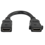 Braided HDMI to HDMI 19Pin Flat Cable, 1.3 Version, Support HD TV / Xbox 360 / PS3 etc, Length: 1.8m (Gold Plated)