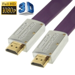 1.4 Version, HDMI to HDMI 19Pin Cable, Support Ethernet, 3D, HD TV / XBOX 360 / PS3 etc, Length: 15m (Gold Plated)