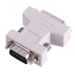 DVI 24+1 Pin Female to VGA 15Pin male adapter