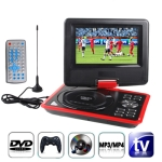 7.5 inch TFT LCD Screen Digital Multimedia Portable DVD