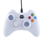 USB 2.0 Dual Shock Vibration Gamepad for PC, Plug and Play