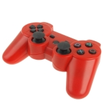 Bluetooth Wireless Dual Shock Game Controller for PS3, Built in 600mA Rechargeable Lithium Battery (Red)