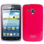 SGP Series Smooth Surface Ultra Thin Plastic Case for Samsung Galaxy Dous i8262D (Magenta)