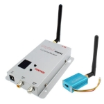 2.4GHz 4 Channels 100mW Wireless Receiver &amp; Transmitter