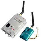2.4GHz 12 Channels 700mW Wireless Receiver &amp; Transmitter