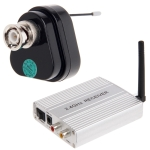 2.4G wirelss receiver, built in microphone for audio monitoring