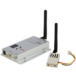 2.4GHz 1000mW 4 Channels Digital Wireless AV transmitter & receiver, Compatible with small unmanned aircraft systems