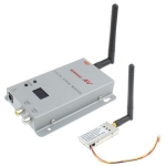 2.4GHz 200mW 8 Channels Wireless Room-to-Room Audio/Video Transmitter Receiver