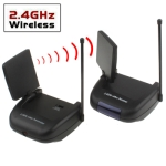 2.4GHz 4 Channels Wireless Audio / Video Transmitter & Receiver System with IR Extender Feature, Maximum Transmission Distance: 150m