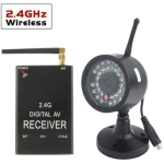 2.4GHz Wireless Receiver 30 LED IR AV COMS CCTV Camera