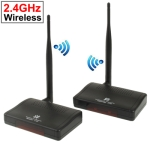 2.4GHz 4 Channels Wireless AV Transmitter &amp; Receiver, Compatible with DVD, DVR, CCD Camera, IPTV, Satellite Set-Top Box and Other AV Output Devices, Maximum Transmission Distance: 300m
