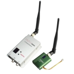 1.2GHz 400mW 8 Channel Digital Wireless AV transmitter & receiver
