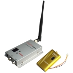 1.2GHz 1500mW 8 Channel Digital Wireless AV transmitter & receiver