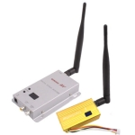 1.2GHz 100mW 15 Channels Wireless Room-to-Room Audio/Video Transmitter Receiver