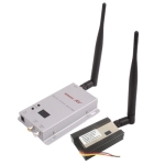 1.2GHz 1500mW 15 Channels Wireless Room-to-Room Audio/Video Transmitter Receiver