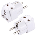 Plug Adapter, Travel Power Adaptor with Europe Socket Plug