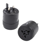Universal Rotation Type US / EU / AU / UK Travel AC Power Adaptor Plug