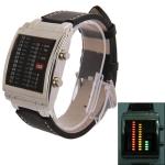 Металлические часы с квадратным циферблатом (Серебро)