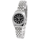 Black Dial Women Diamond Jewelry Quartz Watch with Stainless Watchband