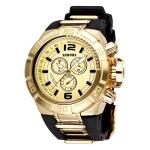Кварцевые мужские часы SHHORS (Черный + Золото)
