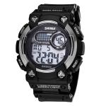 Кварцевые мужские часы SKMEI (Черный + Серый)