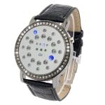 Цифровые LED часы (Черные)