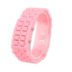 Plastic LED Watch (Pink)
