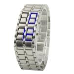 LED часы Iron Samurai - Japanese (Серебро)
