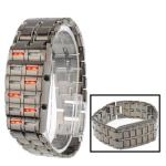 Цифровые LED часы из нержавеющей стали