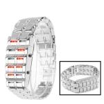 Цифровые LED часы (Серебро)