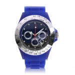 Водонепроницаемые кварцевые часы Sport Style (Синие)