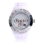 Водонепроницаемые кварцевые часы Sport Style (Белые)