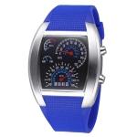 Цифровые LED часы TVG Unisex (Синие)