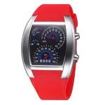 Цифровые LED часы TVG Unisex (Красные)