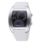 Цифровые часы TVG (Белые)