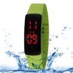 Водонепроницаемые LED часы SHHORS Unisex (Светло-зеленые)