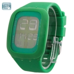 LED часы с сенсорным экраном (Зеленые)