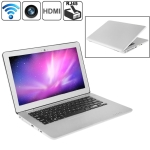 MC207, HSD-S1330 Silver, 13.3 inch Aluminum Shell Slim AirBook Notebook Computer with WIFI, 1.3 Mega Pixels Camera, 500GB Hard Disk, Windows XP OS, CPU: Intel Atom D2550 Dual Core, 1.86GHz