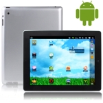 aPad 2, 9.7 inch Touch Screen Android 2.2 (Support Flash 10.1) aPad 2 Style Tablet PC with WIFI & Dual Cameras, RJ45/2 USB Port Adapter, Support TF Card and up to 16GB, 360 Degree Menu Rotate, CPU: VIA WM8650, 600MHz