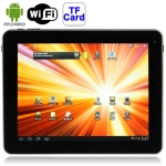 U9GTE Silver, 9.7 inch Capacitive Touch Screen (10-point) Android 4.0 aPad Style Tablet PC with WIFI, Dual Cameras, Metal Shell, 16GB NAND Flash, 360 Degree Menu Rotate, CPU: RK2918 (ARM+DSP+GPU), 1.2GHz