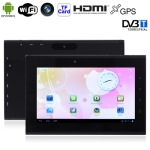 720 Black 7.0 inch Capacitive Touch Screen Android 4.0 Version aPad Style Metal Brush Shell Tablet PC