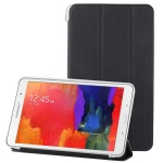 Leather Case with Holder For Samsung Galaxy Tab 10.1 / P7510 (Black)