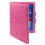 Cute Leather Case for Samsung Galaxy Tab 10.1 / P7510 / P7500, Pink