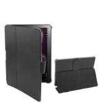 Leather Case with Smart Cover for Samsung Galaxy Tab 10.1 / P7510 / P7500 (Black)