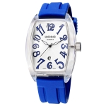 Кварцевые мужские часы WeiQin (Синий + белый)
