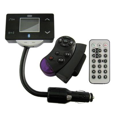 1,5 Pupara Lgadas Mp3Vehiculo Y Bluetooth Fm Modulador Soporte Para Tarjetas Sd C Disco Flash Usb
