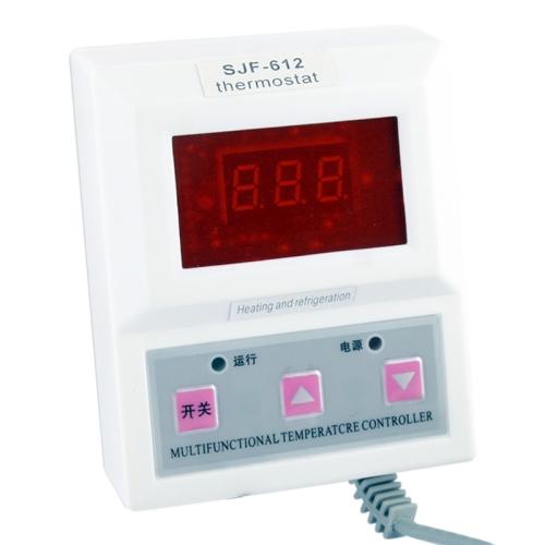 1,4 Pupara Lgadasluz Roja Lcd Inteligente Termostato Digital Controlador Temperatura Blanco