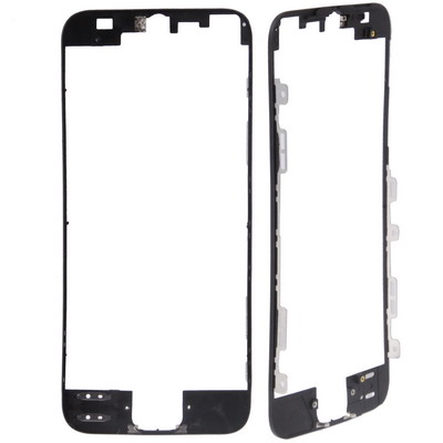 LCD & Touch Screen Frame for iPhone 5(Black)