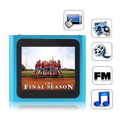 1,8 Pupara Lgadas Pantalla Tactil Tft 4Gb Mp4 Radio Fm Textuales E-Libro Juegos Baby Blue