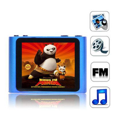 1,8 Pupara Lgadas Tft 4Gb Mp4 Radio Fm Textuales E-Libro Juegos Baby Blue